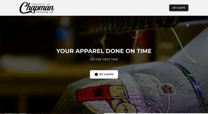 пример красивого сайта, созданного на Weblium