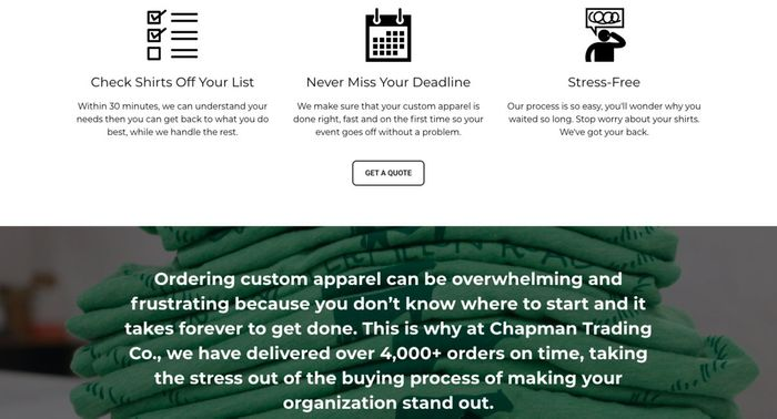 пример красивого сайта