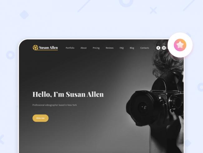 Сайт фотографа: примеры и советы по созданию