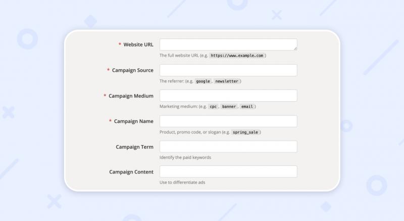 Campaign URL Builder Weblium