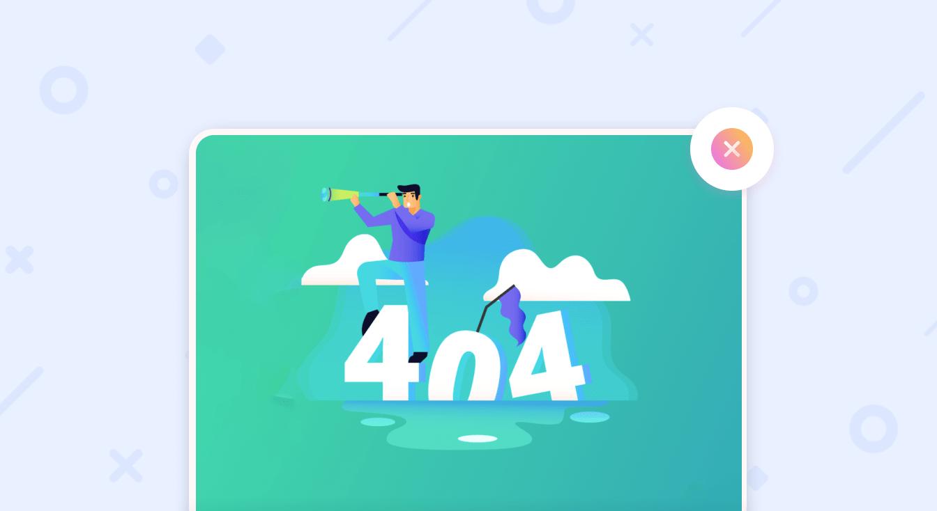 Страница 404: примеры 404 страниц и как создать