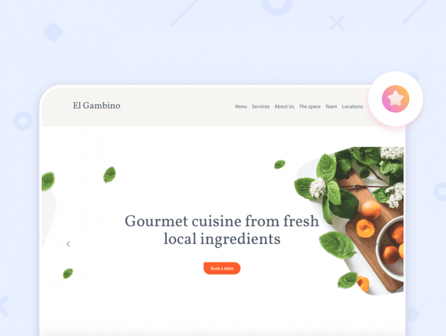 Как создать сайт ресторана: готовые шаблоны и топ-5 идей