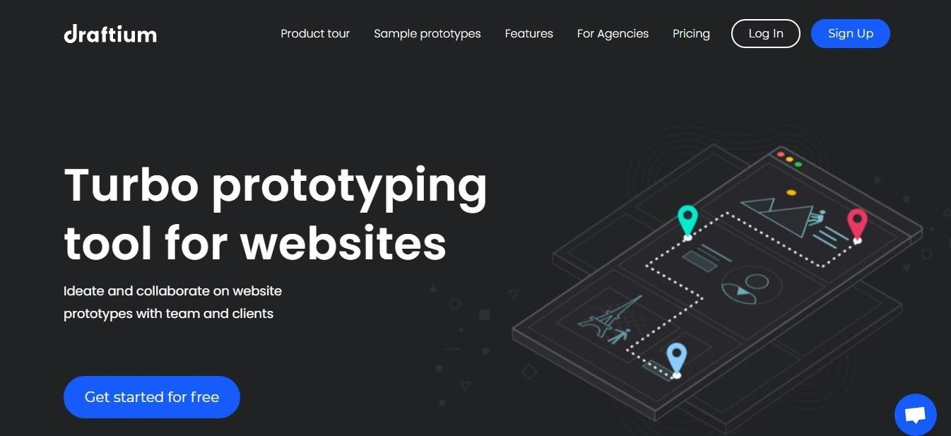 website structure prototype