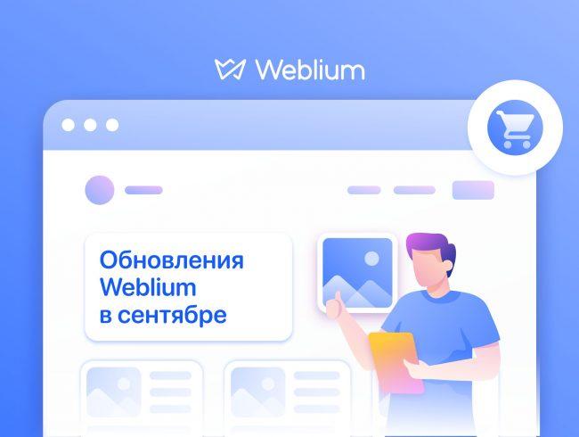 Сентябрьские обновления: интернет-магазин, защищенные паролем страницы, скрытие блоков в мобильной версии