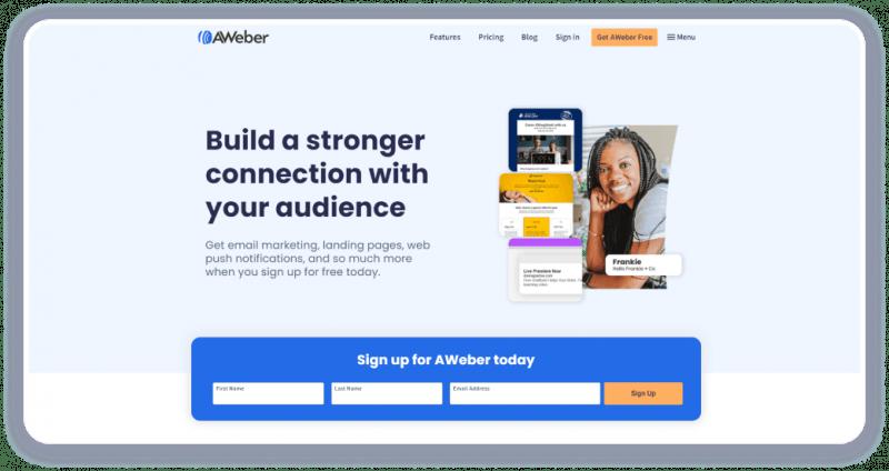 Сервис Aweber